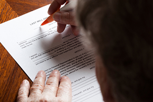 making a will